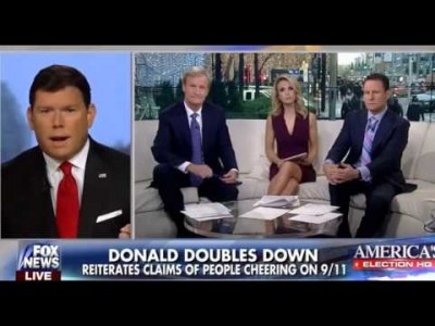 """Steve Doocy backs up Donald Trump: """"I actually remember"""" Muslim Americans cheering on 9/11"""